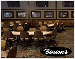 Binions Casino Poker Room