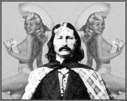 Poker celeb Wild Bill Hickock