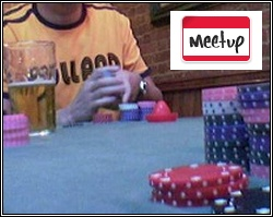 Poker Meet Up in the Pub