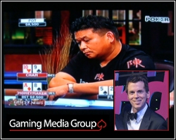 Poker television