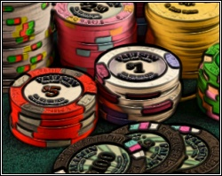 Real poker chips