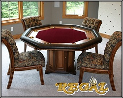 Designer poker tables