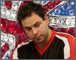 UK poker professional Roland De Wolfe